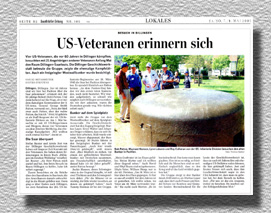 Report in the Saarbruecker Zeitung